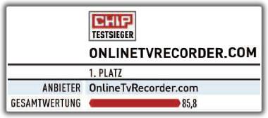 Online tv recorder chip